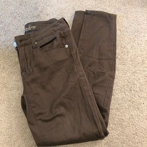 American rag olive green jeans 1s 25